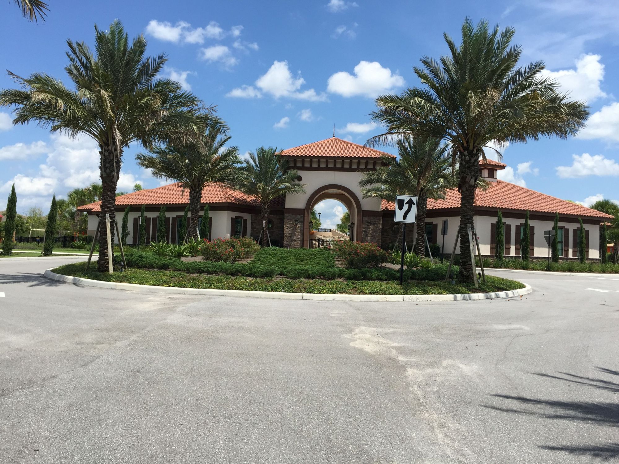 Front View of Solterra Resort