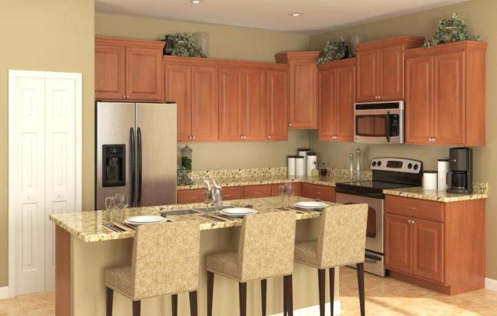 The Retreat Aruba Kitchen, Champions Gate Golf Davenport, Florida, USA