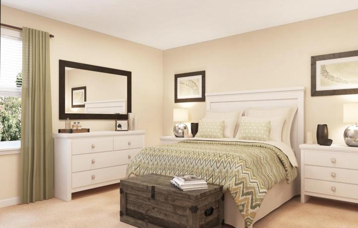 The Retreat Aruba Master Bedroom, Champions Gate Golf Davenport, Florida, USA