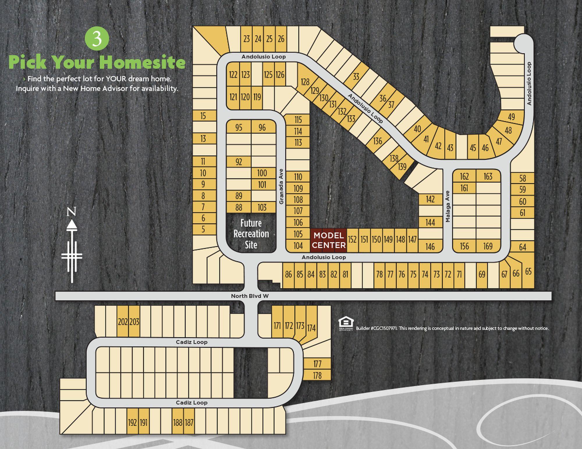 Vacation Homes Marbella Site Plan, Davenport, Florida
